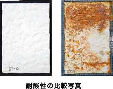 耐酸性の比較写真