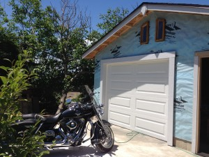 Garage for Road King by self building